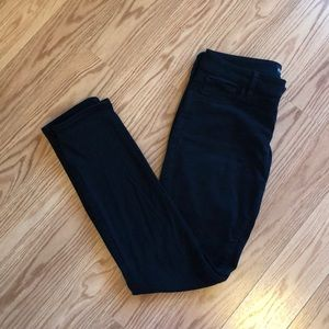 Low rise soft stretch jeans